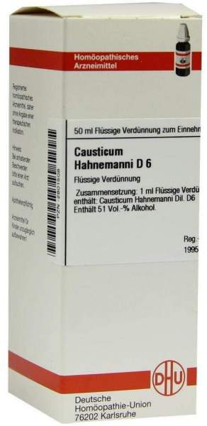 Causticum Hahnemanni D6 50 ml Dilution