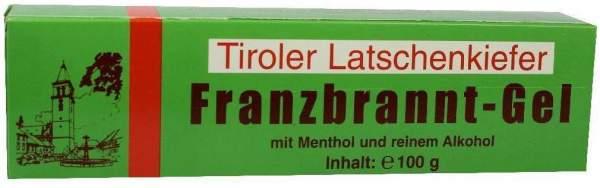 Tiroler Latschenkiefer Franzbrannt Gel 100 G