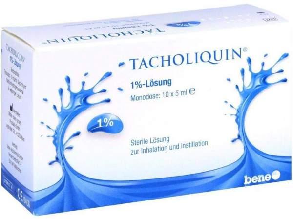 Tacholiquin 1 % 10 X 5 ml Lösung Monodose