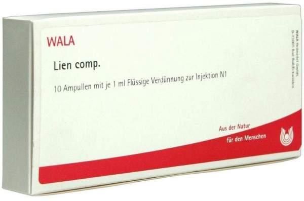 Lien Comp. 10 X 1 ml Ampullen