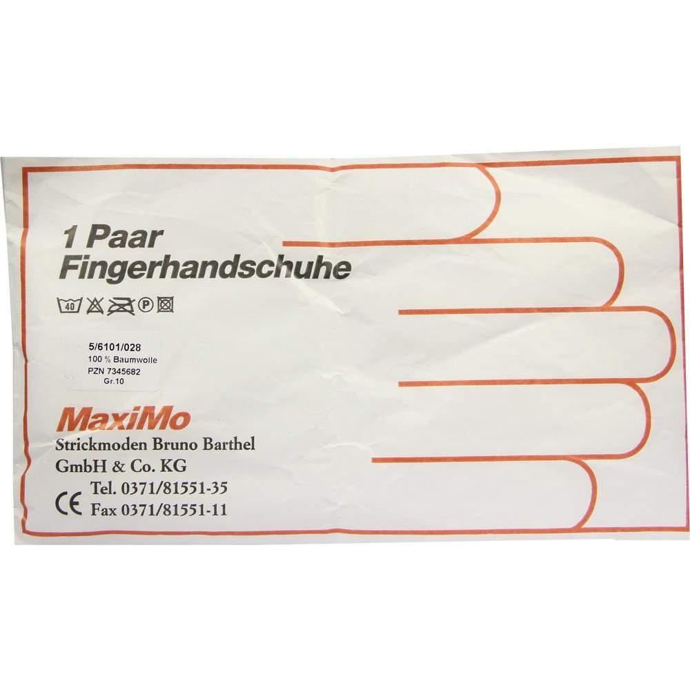 Strickmoden Bruno Barthel GmbH Handschuhe Baumwolle Gr. 10 Staerk. Material - 2 Handschuhe