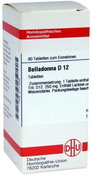 Belladonna D 12 80 Tabletten
