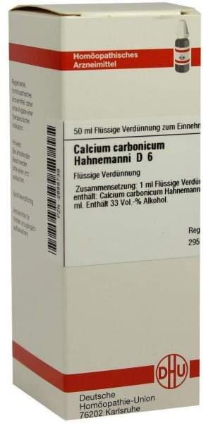 Calcium Carbonicum D6 Dilution Hahnemanni 50 ml Dilution