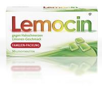 Lemocin gegen Halsschmerzen 50 Lutschtabletten