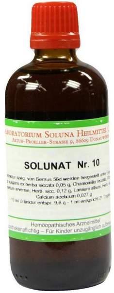 Solunat Nr.10 100 ml Tropfen