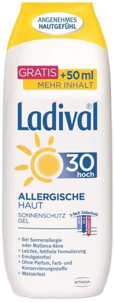 Ladival Sonnenschutz Gel Allergische Haut LSF 30 250 ml Gel