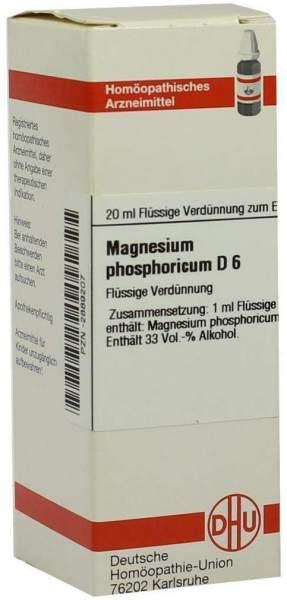 Magnesium Phosphoricum D 6 20 ml Dilution