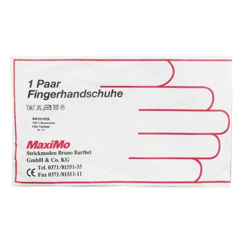 Strickmoden Bruno Barthel GmbH Handschuhe Baumwolle Gr. 11 Staerk. Material - 2 Handschuhe