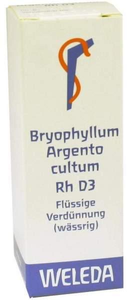 Weleda Bryophyllum Argento Cultum Rh D3 50 ml Dilution