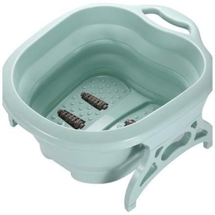 Faltbares Fußbad mit Massagenoppen, Mintgrün