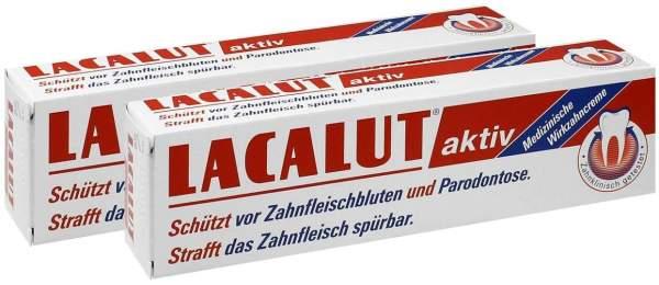 Lacalut Aktiv 2 x 100 ml Zahncreme