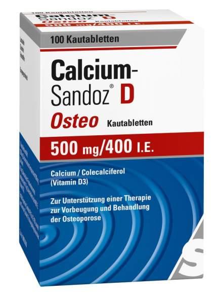 Calcium Sandoz D Osteo 100 Kautabletten