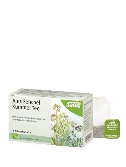 Salus Anis Fenchel Kümmeltee 15 Filterbeutel