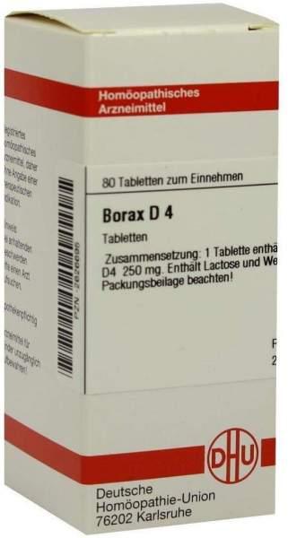 Borax D4 80 Tabletten