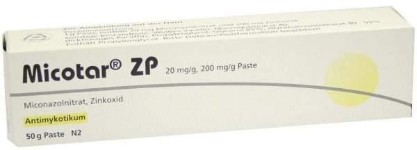 Micotar Zp 50 G Paste