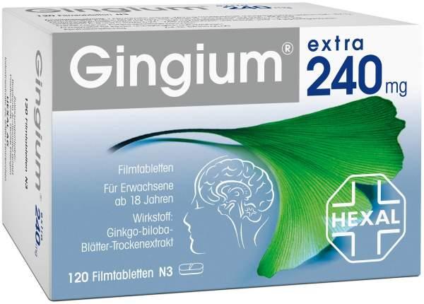 Gingium extra 240 mg 120 Filmtabletten