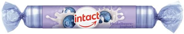 Intact Traubenzucker Heidelbeere Joghurt Rolle 40 G