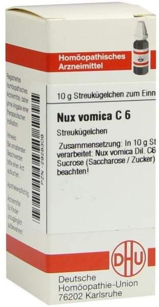 Nux Vomica C 6 Globuli