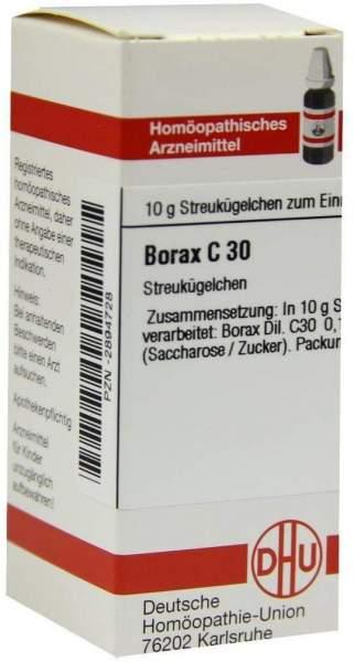 Borax C30 10 G Globuli