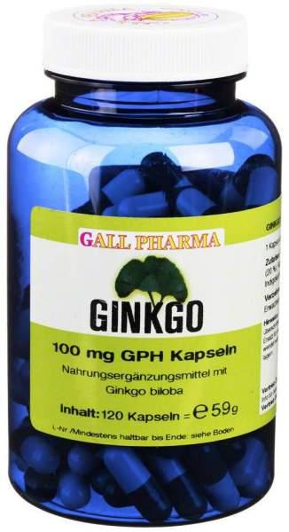 Ginkgo 100 mg GPH 120 Kapseln