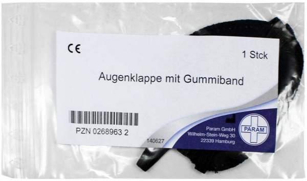 Augenklappe Mit Gummiband 1 Stück