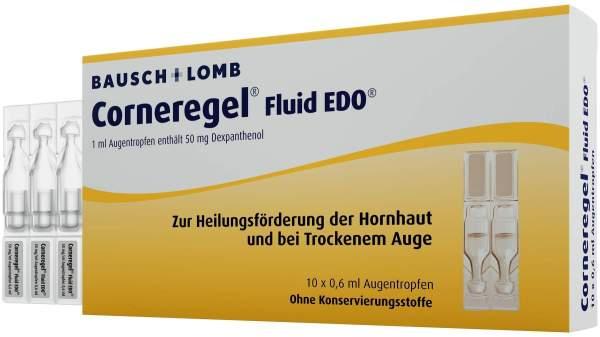 Corneregel Fluid Edo 10 X 0,6 ml Augentropfen