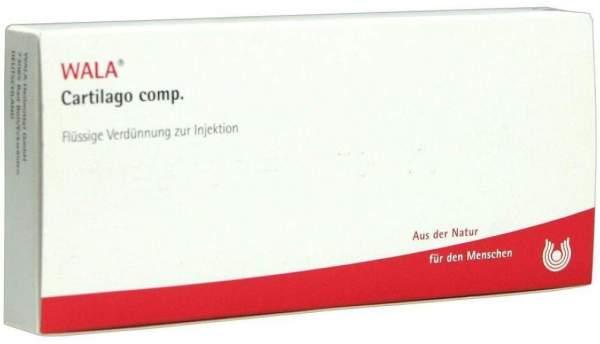 Cartilago Comp. Ampullen 10 X 1 ml
