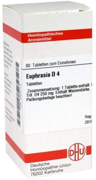 Euphrasia D 4 Dhu 80 Tabletten