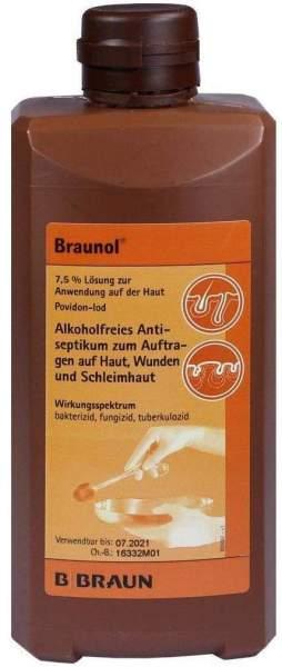 Braunol Schleimhautantiseptikum 500 ml Lösung
