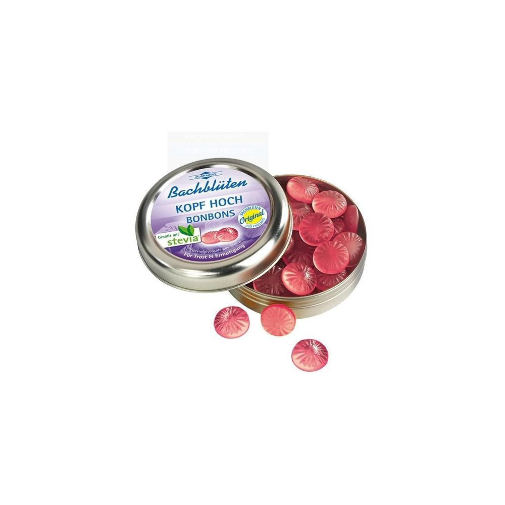 bachbl ten murnauer kopf hoch bonbons mit stevia 50g online bestellen volksversand versandapotheke. Black Bedroom Furniture Sets. Home Design Ideas