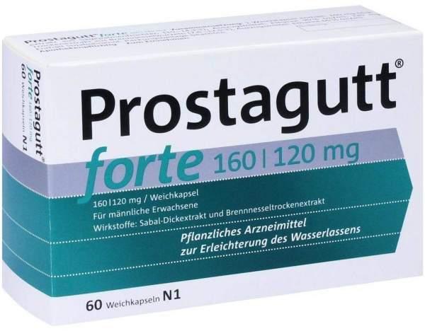 Prostagutt forte 160 - 120 mg 60 Kapseln