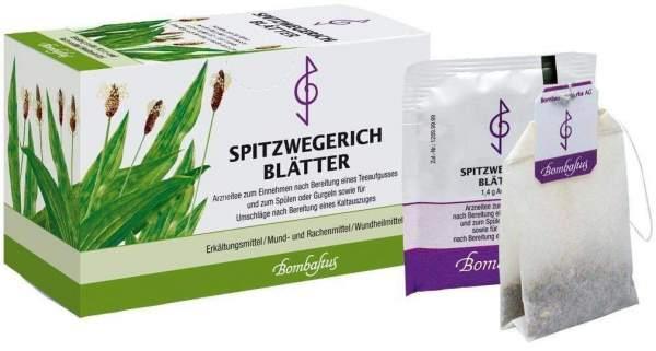 Spitzwegerichblätter 20 Filterbeutel