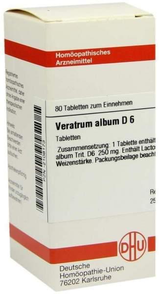 Veratrum Album D6 Dhu 80 Tabletten