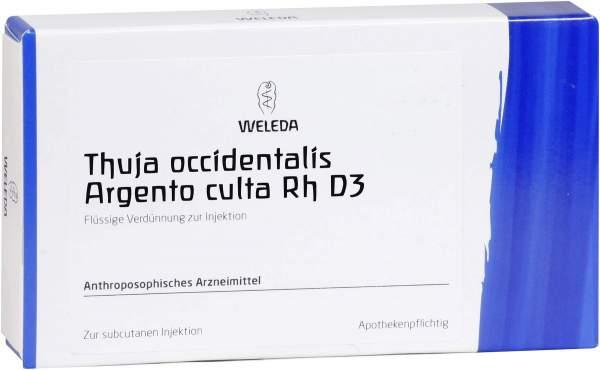Weleda Thuja Occidentalis Argento Culta D3