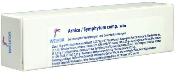 Weleda Arnica Symphytum Comp. 25 G Salbe