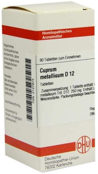 Cuprum Metallicum D 12 80 Tabletten