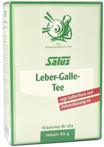 Leber Gallen Tee Nr.18a Salus 85 G Tee