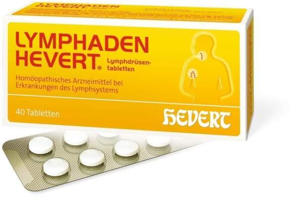 Lymphaden Hevert Lymphdrüsen Tabletten 40 Tabletten