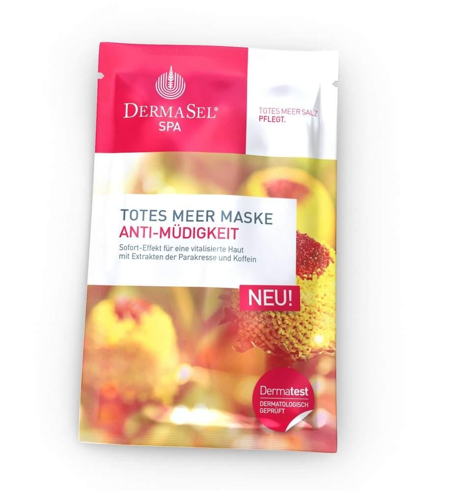 Dermasel Maske Anti Müdigkeit Spa 12 ml Gesicht...