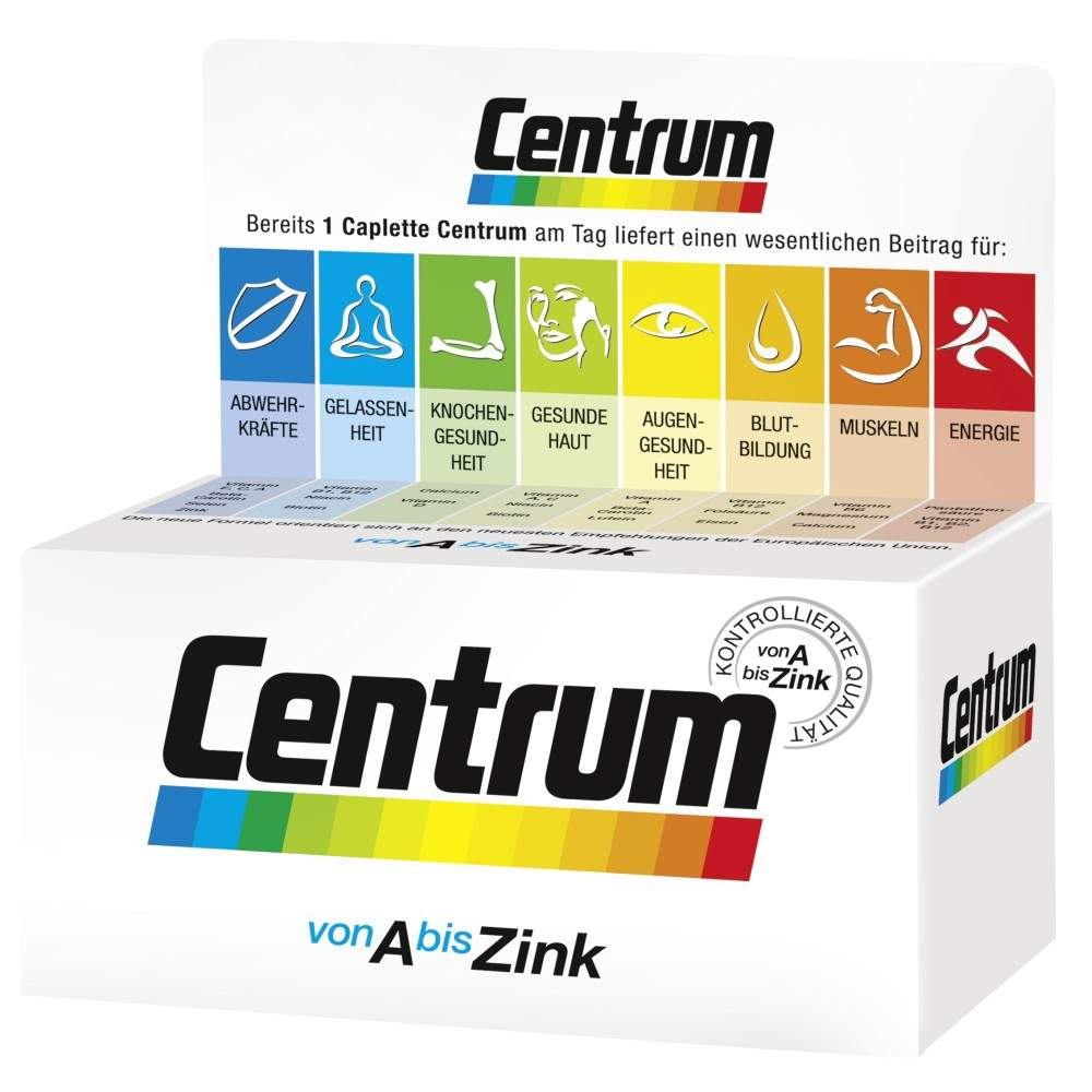 Centrum A-Zink + Floraglo Lutein Caplette 100 T...