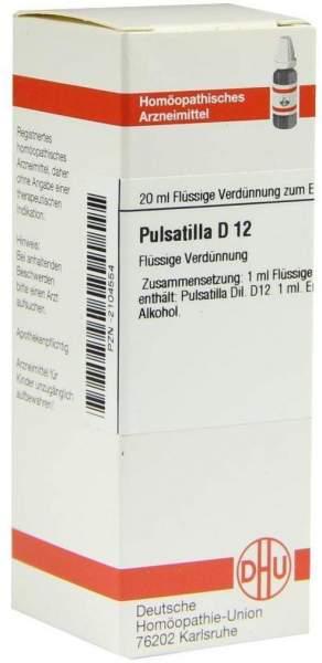 Pulsatilla D 12 20 ml Dilution