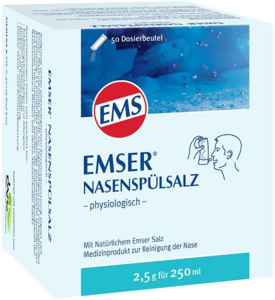 Emser Nasenspülsalz physiologisch 50 Beutel Pulver
