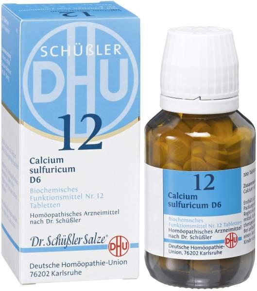 Biochemie DHU 12 Calcium sulfuricum D6 200 Tabletten