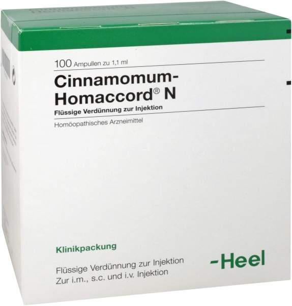 Cinnamomum Homaccord N Ampullen 100 Ampullen