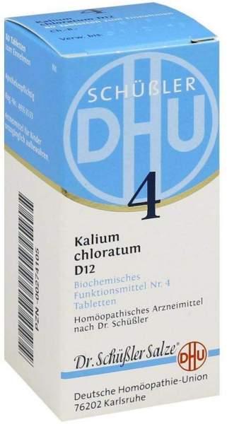 Biochemie Dhu 4 Kalium Chloratum D12 80 Tabletten