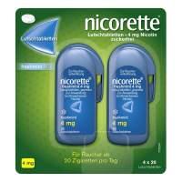 Nicorette Freshmint 4 mg 80 Lutschtabletten