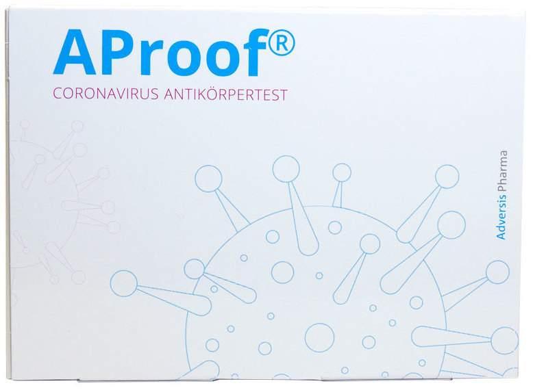 Corona Antikörpertest SARS-CoV-2 CoVid-19 AProof 1 Test