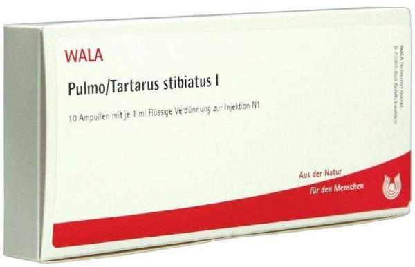 Wala Pulmoo-Tartarus Sibiatus I 10 X 1 ml Ampullen