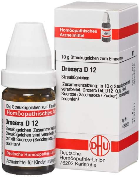 Drosera D12 10 G Globuli