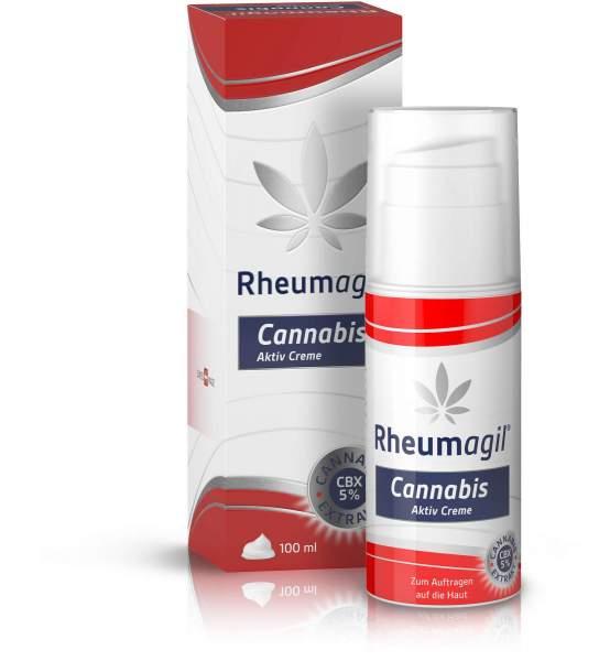 Rheumagil Cannabis Aktiv Creme 100 ml